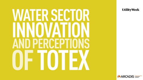 Water sector innovation and perceptions of totex - Water. desalination + reuse
