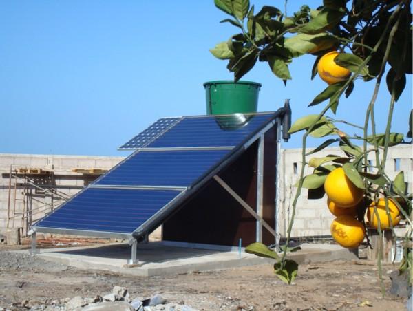 Solar Distillation System Solar Membrane Distillation