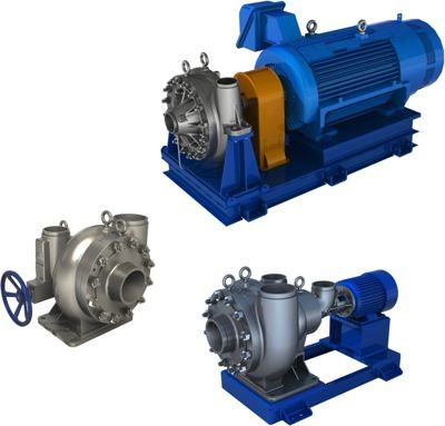 HP Feed Pumps and Energy Recovery Boosters for Seawater and Brackish Water RO