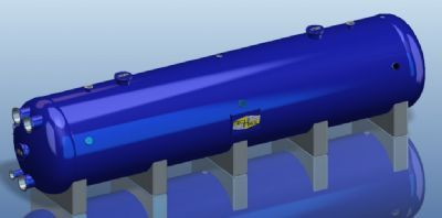 Horizontal sand filters