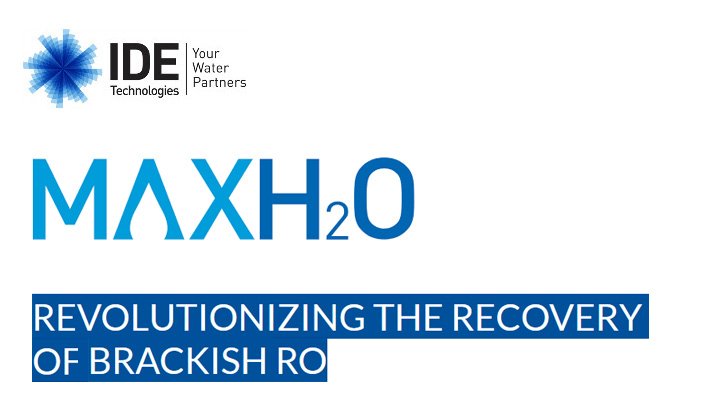 REVOLUTIONIZING THE RECOVERY OF A BRACKISH WATER RO