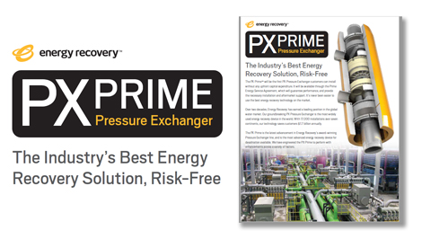 The Industry's Best Energy Recovery Solution, Risk-Free