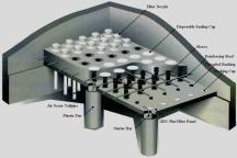 Monolithic Filter Floors