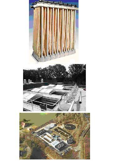 Improving Effluent Qualities using Immersed UF Membrane Technology