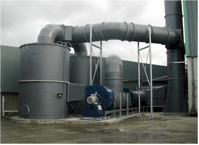 Odour Control Plant for Waste Transfer Station
