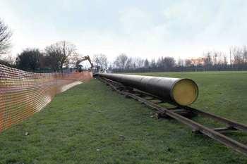 Steel Water Mains Pipe