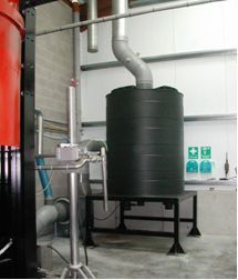 VOC Removal for Solvent Recovery Plant