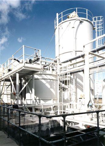 Lime / Dried Sewage Storage & Handling