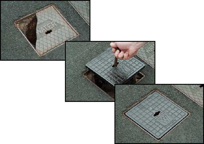 Stop Tap Box Locking Replacement Lids