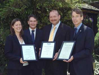 Frazer & Tabberer receives ISA & OHSAS accreditations simultaneously