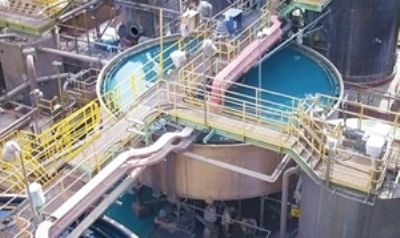 AGRU piping system with chemical resistance in Chile