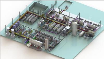 UPW system Siemens power plant