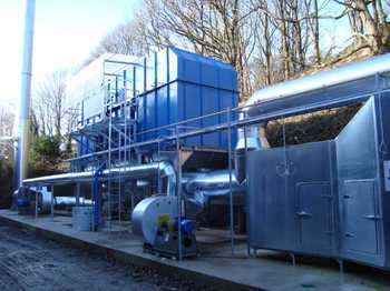 Regenerative Thermal Oxidiser For the abrasives industry